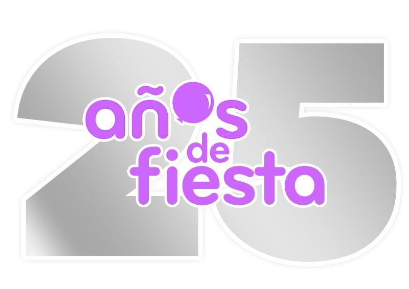 Logotipo – 25 Años de Fiesta Consulting